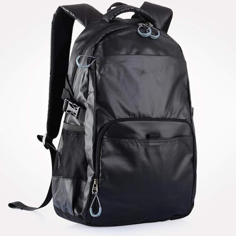 LIUXIN Studententasche, Campus-Rucksack for Mnner, Leicht, Mit Groer Kapazitt, Abriebfest, Wasserdicht, Mehrfarbig Optional (Farbe   schwarz)