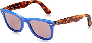 Ray-Ban Square Sunglasses For Unisex - Purple, RB2140 1241W0 50
