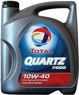 Total Quartz 7000 10W40 5 litros. Lubricante sintético