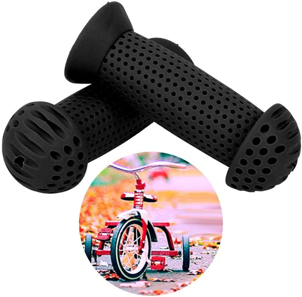 VGEBY1 Kids Bicycle Handle Cover Anti-Skid Shock-Absorbing Children Scooter Handlebar Protectors