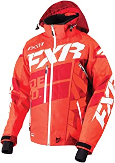 FXR Boost X Jacket Authentic ACMT HydrX Pro DVS Thermal Dry Snowmobile - Nuke Red/Maroon/White - X-Large