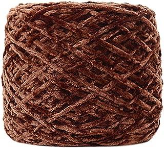 AGUIguo Soft Velvet Yarn Knitting Wool Yarn for Crochet Crafting Garments Scarves Hats Craft Shawl