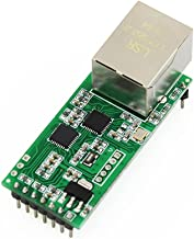 Serial TTL to Ethernet Module TCP IP UDP Network Converter Module RS232 RJ45 LAN Module with HTTPD Client Tniy Size