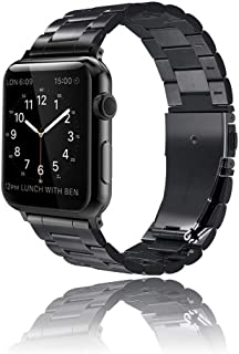 Innoo Tech Apple Watch Band 38/40mm Stainless Steel Metal Strap Upgraded Replacement Link for iWatch Apple Watch Series 6/...