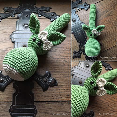 Häkelanleitung für eine Drachen-Handrassel