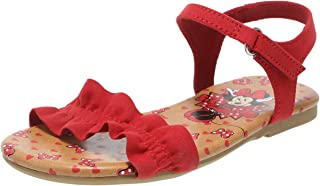 Girls' Toddler Minnie Mouse Ruffle Sandal
