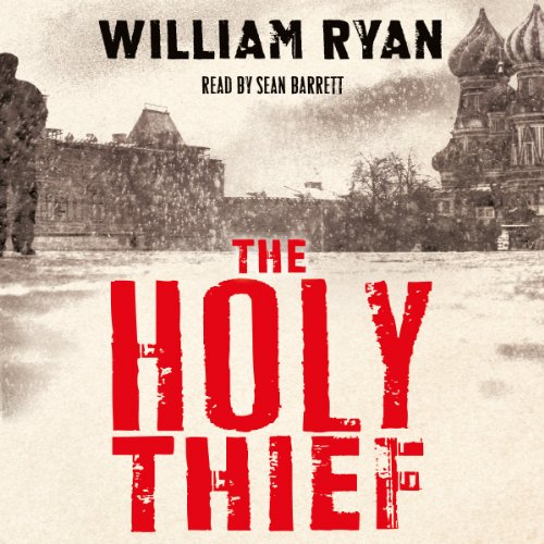The Holy Thief audiobook cover art