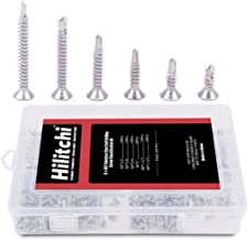 Best stainless steel countersunk self tapping screws Reviews