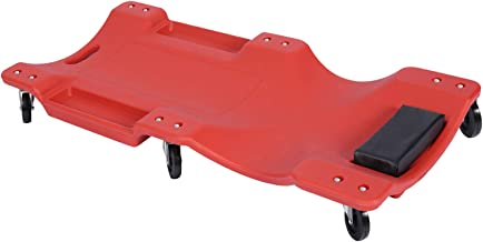 Plataforma mecánico montaje vehículos Camilla ruedas taller coches Trabajos mecánicos 103x50x10cm