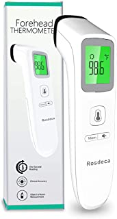 (US in Stock) Non-Contact Forehead Thermometer for Babies Kids and Adults, Medical Digital Infrared Thermometer for Fever with Instant Fever Alarm, Accurate Reading and Memory Function