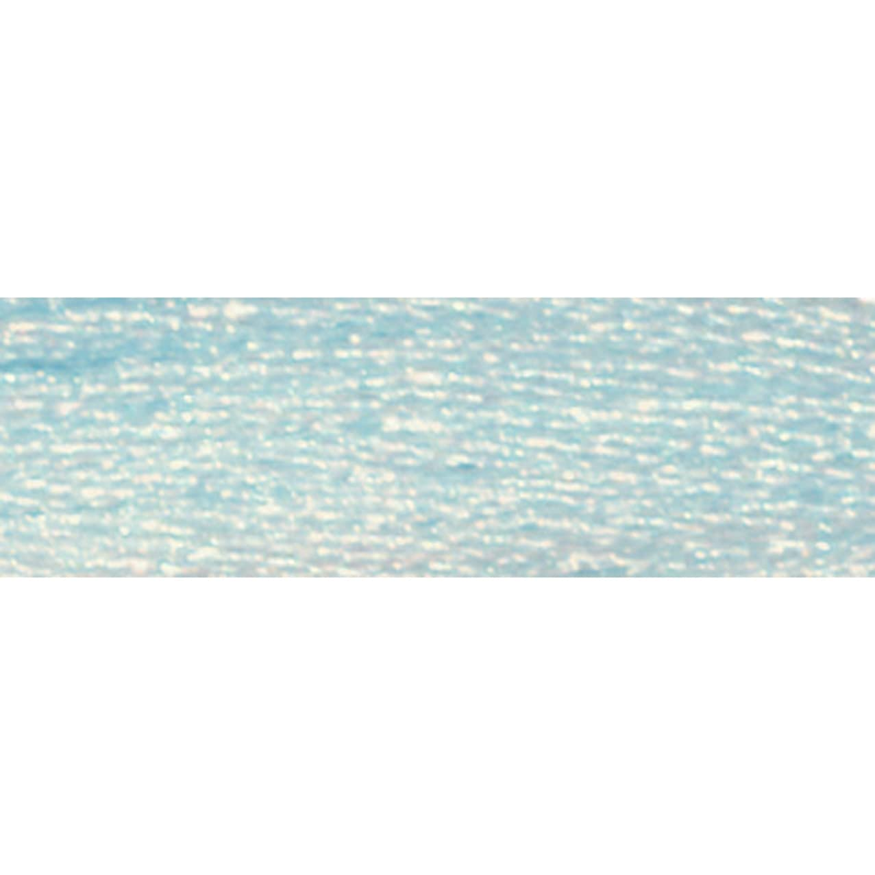 DMC 317W-E747 Light Effects Polyster Embroidery Floss, 8.7-Yard, Baby Blue