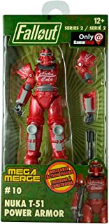 Just Toys LLC Fallout Mega Merge Series 2 - T-51 Nuka Cola Power Armor