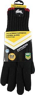 Heat Holders Men's NRL Adult Gloves, Rabbitohs, M/L