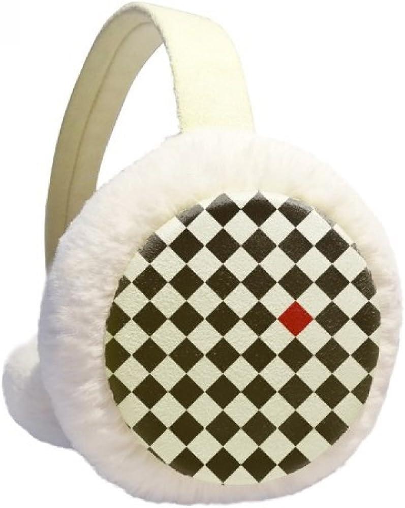 Rhombus Line New York Mall Art Grain Illustration Winter Ca Popular popular Ear Pattern Warmer