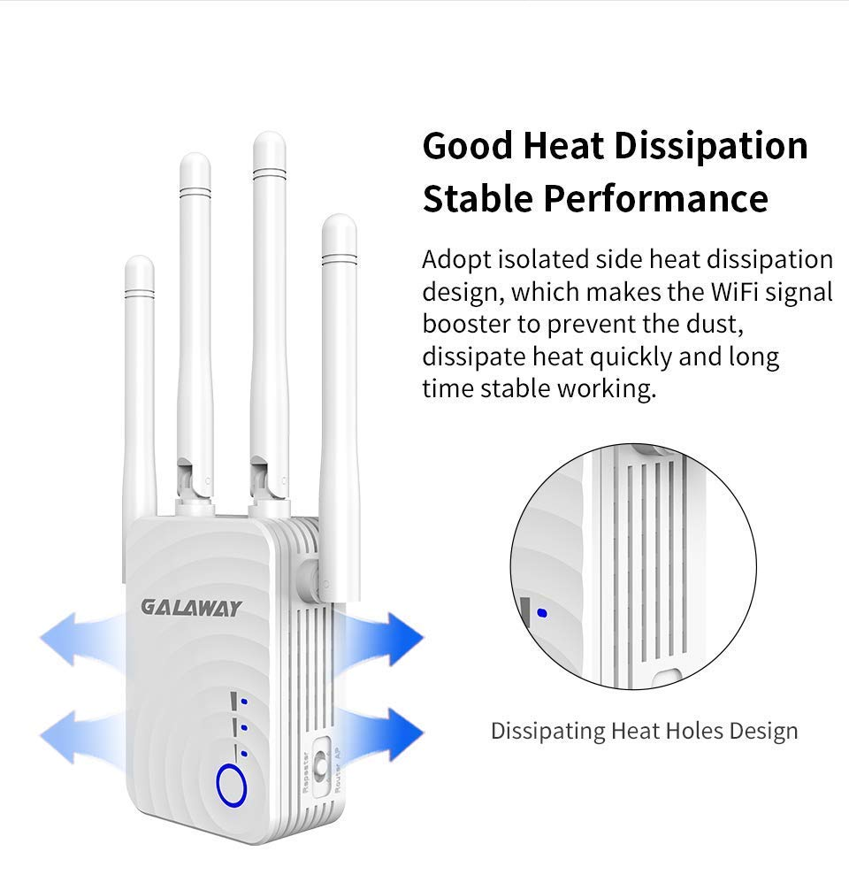 Smart Signal Indicator G0037 WiFi Booster with Ethernet Ports ...