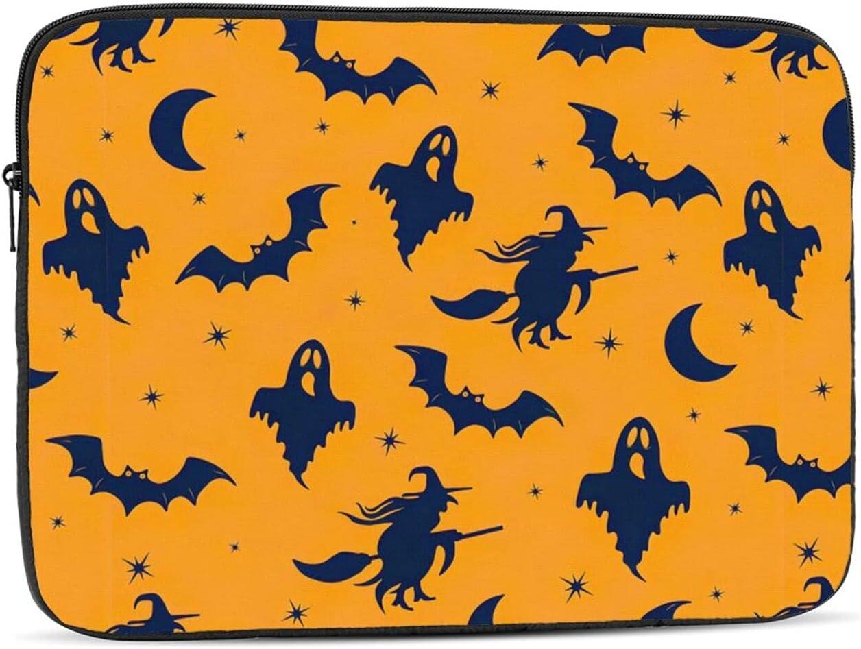 KXT Halloween Cartoon Pattern Denver Soldering Mall Laptop Case Cover Briefcase Sleeve