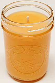 Homemade 3 Pack 8oz Mason Jar Soy Candle - Mango and Tangerine