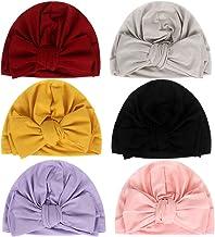 Newborn Baby Cotton Cloth Turban Toddler Rabbit Hospital Hat Ear Hat Kids Set Baby Cap (MN101)