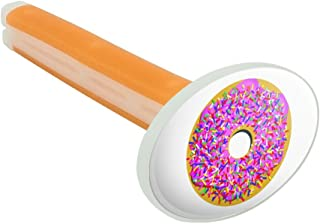 Pink Donut with Pink Frosting and Sprinkles Car Air Freshener Vent Clip