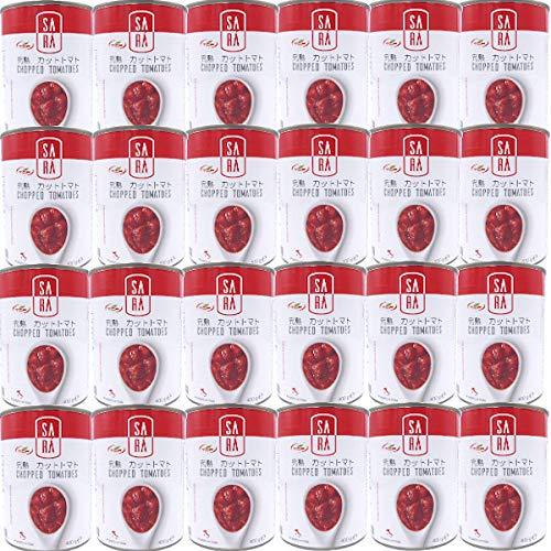 イタリア産 完熟 ダイスカット トマト缶 (400gx24缶) 業務用 缶詰 カットトマト プルトップ まとめ買い