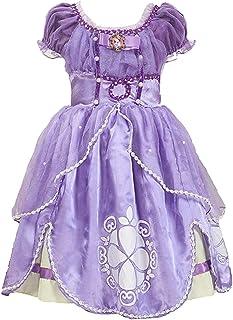 プリンセスなりきり 子供 ドレス キッズ 子ども お姫様 ワンピース お姫様ドレス 女の子 なりきり キッズドレス ちいさなプリンセス ソフィア