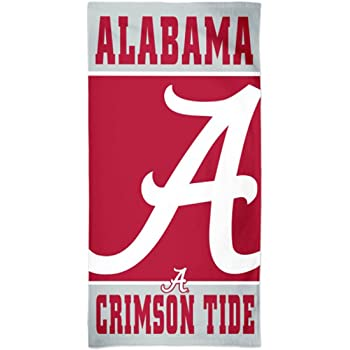 WinCraft Alabama Crimson Tide Roll Tide Towel with Premium Spectra Graphics 30 x 60 inches