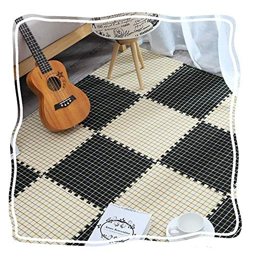 WLD Floor Mat Interlocking Soft Mat Interlocking Children Soft Eva Foam 9 Pieces Interlocking Soft Children Baby Eva Foam Activity Play Mat Protective Floor Tile Mat Children'S Soft Floor Mat,G,Large