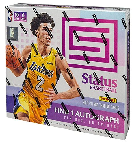 2017/18 Panini Status NBA Basketball HOBBY box (10 pk)