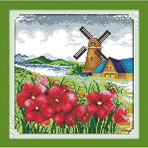 Everlasting Love Korean Ansicht Chinesische Kreuzstich Kits Ökologische Baumwolle 11 14CT Weihnachtsschmuck For Zu Hause Gedruckt Gestempelt Kreuzstich-Malerei