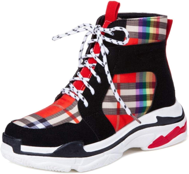 Melady Women Fashion High Top shoes Sports Booties