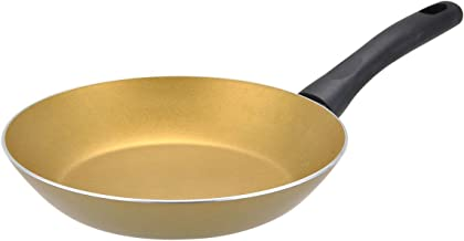 """Proctor Silex PAE102 Covered Non-Stick Interior, 9.25"""", Gold Fry Pan"""