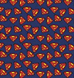 DC Superman Logo Stoff – Verkauft in 0,5 Multiples (100%