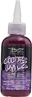 Beyond the Zone Purple Passion Semi Permanent Hair Color Purple Passion