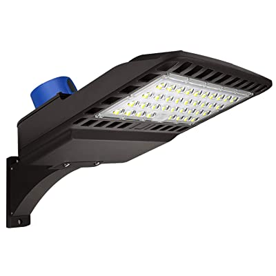 LED Parking Lot Lighting 150W - Dusk to Dawn Wi...