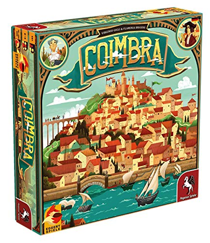 Pegasus Spiele 54564G - Coimbra (eggertspiele)
