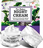 StBotanica Pure Radiance Night Cream - Intensive Firming, Anti-Aging & Skin Brightening, 50gm (With Vitamin C, Retinol, Hyaluronic acid, Collagen)