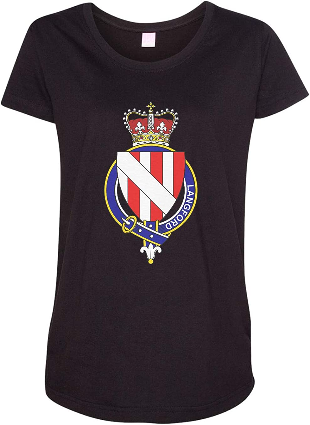 HARD EDGE DESIGN Women's English Garter Family Langford T-Shirt