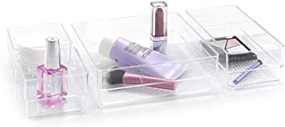 Plastic Forte Cosmetic Boxes and Organizers - Clear