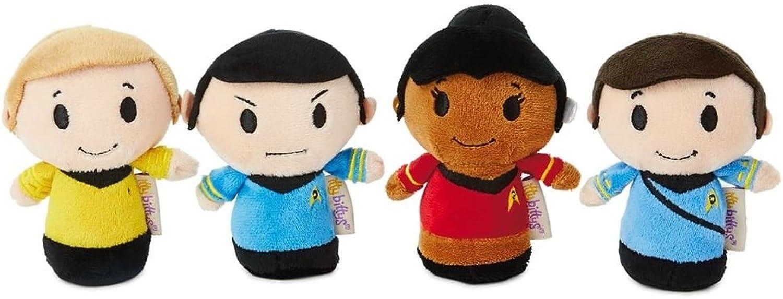 Itty bittys Star Trek 50th Anniversary Collector Set With Captain Kirk, Spock, Doctor McCoy and Lieutenant Uhura Stuffed Animals Itty Bittys Birthday B01BFSUE92 Vielfältiges neues Design | Ausgang