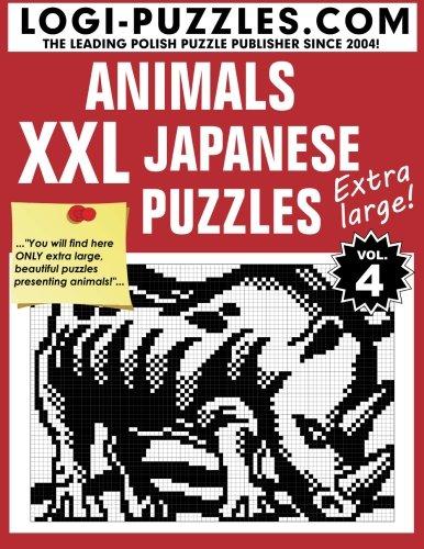 XXL Japanese Puzzles: Animals