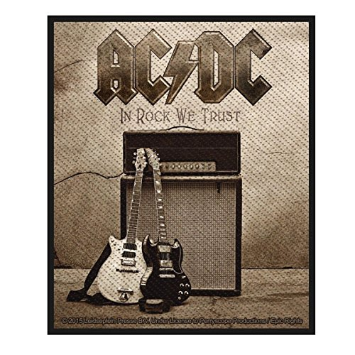 AC/DC - In Rock We Trust - Patch / Aufnäher