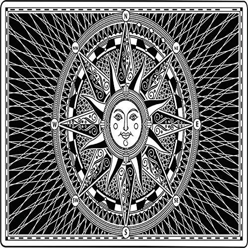 CNYG Moon Sun Tarot Series Tapiz Hippie Decoración para el hogar Tapiz Manta de Pared 10 150 * 130CM