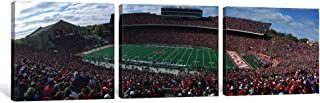 iCanvasART 3-Piece University of Wisconsin Football Game, Camp Randall Stadium, Madison, Wisconsin, USA Canvas Print by Pa...