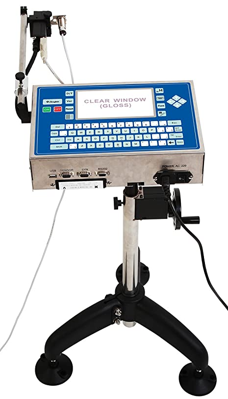 評価可能マーキングセンチメンタルNew Industrial Date Code Printing Machine High Resolution Inkjet Printer for Plastic Products (220V)