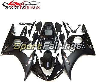 Sportfairings Fairing Kit For Yamaha YZF-R6 2005 Year 05 Injection Motorcycle Bodywork Cowling Flat Black