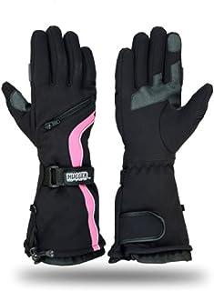 Hugger Glove Company Women's Textile Gauntlet Snowmobile Gloves