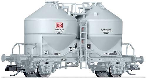 Tillig TT 17765 Wagons-silos pour matières pulvérulentes, voie TT