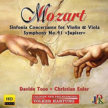 "Mozart: Sinfonia concertante in E-Flat Major & Symphony No. 41 ""Jupiter"""