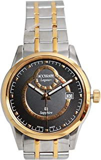 Casual Watch for Men by Accurate, Multi Color, Round, AMQ1740T