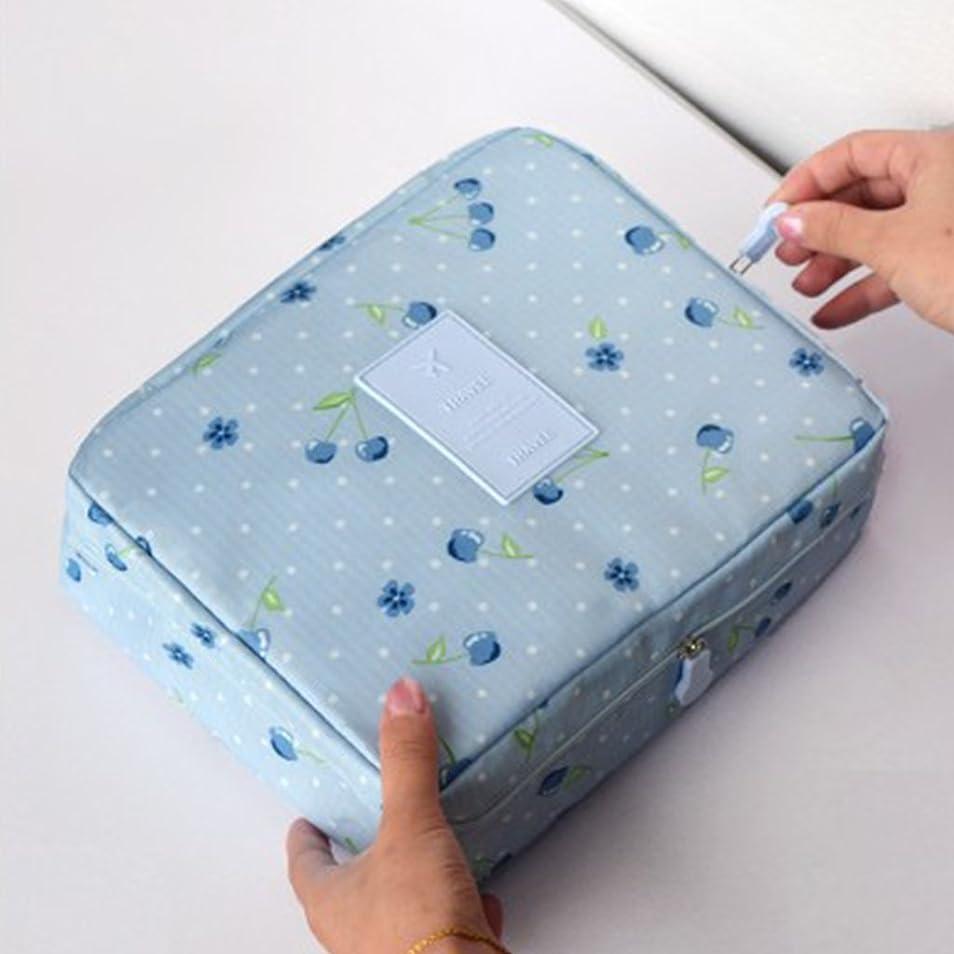 分子押す専門女性の日常使用のためのパターンと多機能防水メイクアップバッグバニティ化粧ケース